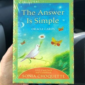 🆕The answer is simple Oracle Cards